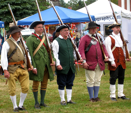 Townsend Minutemen in rank